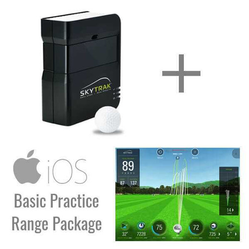 SkyTrak Golf Launch Monitor and Basic Range Package for iOS and PC