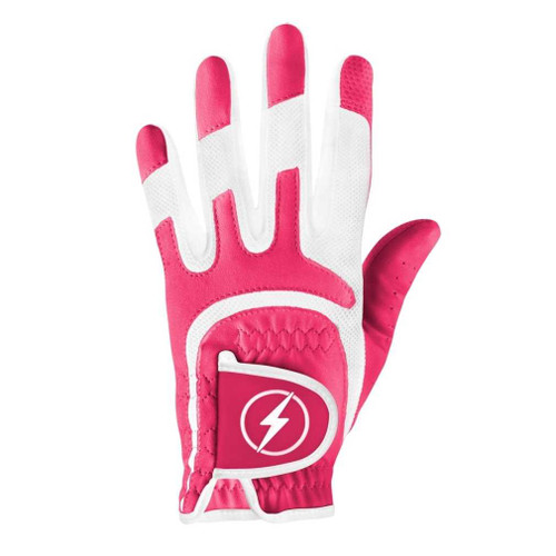 PowerBilt Women's One-Fit Golf Glove - Magenta