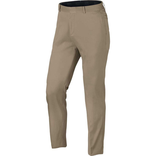 Nike New Flat Front Men's Golf Pants - Khaki