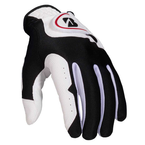 Bridgestone EZ Fit Golf Glove - White/Black