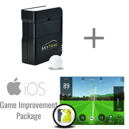 SkyTrak Golf Launch Monitor + Game Improvement Package