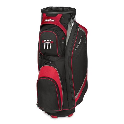 Bag Boy Revolver FX Golf Cart Bag - Black/Red/Silver