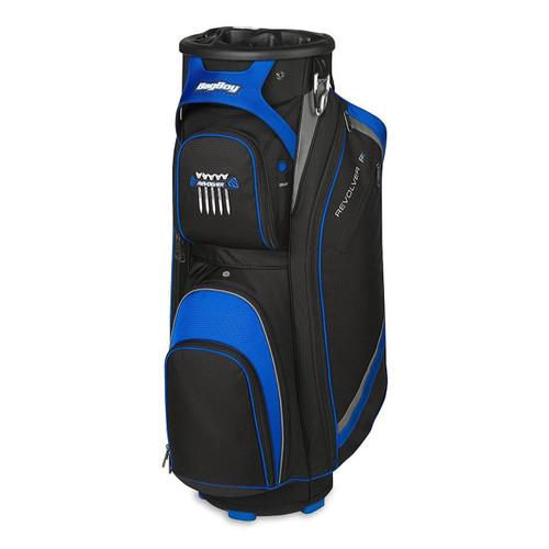 Bag Boy Revolver FX Golf Cart Bag - Black/Royal/Silver