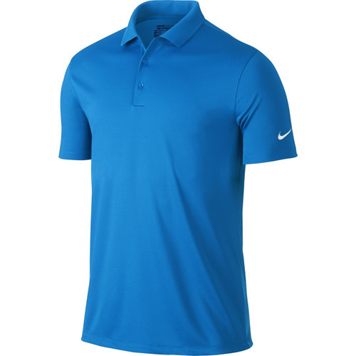 5e2fbfd4 Nike Golf Victory Solid Polo (Dark Grey/White) - Golfland Warehouse