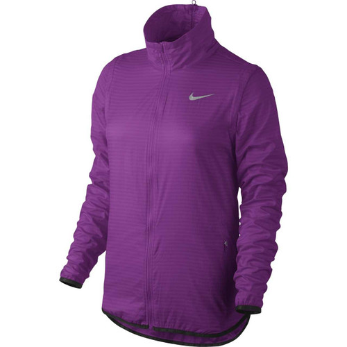 Nike Golf Women's Flight Convertible Jacket - Cosmic Purple/Metallic Silver
