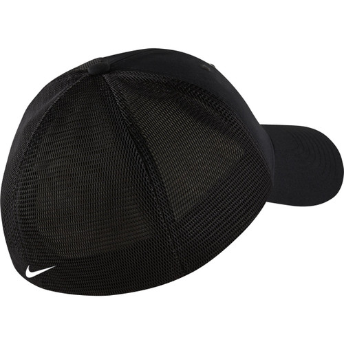 05a1adc1679 Nike Golf TW Legacy 91 Tour Mesh Fitted Hat - Black White