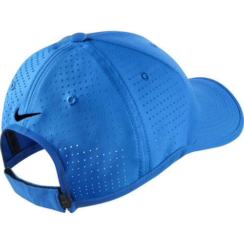 7d54e293 ... Nike Golf TW Ultralight Tour Adjustable Hat - Photo Blue/Black