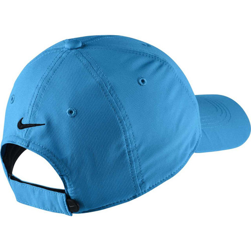 c6ec9b059bf9b Nike Golf Legacy 91 Tech Adjustable Hat (Photo Blue Black) - Valor ...