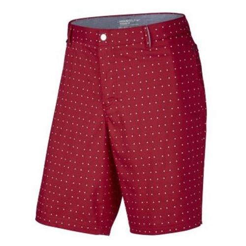 e53aae245e89 Nike Golf Modern Fit Printed Shorts (Midnight Navy Light Crimson White Wolf  Grey) 38 - University ...