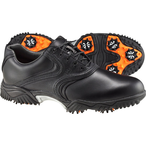 a440f6dae36015 FootJoy Contour Series Traditional Saddle Golf Shoes in Black