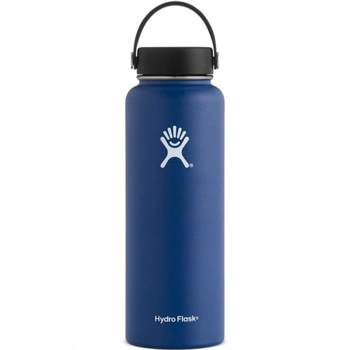 Hydro Flask 40 oz Wide Mouth Insulated Bottle w/ Flex Cap - Cobalt