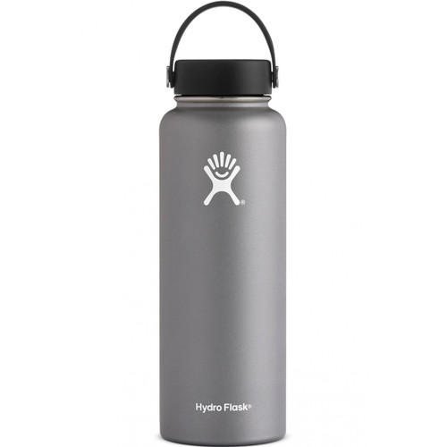 Hydro Flask 40 oz Wide Mouth Insulated Bottle w/ Flex Cap - Graphite