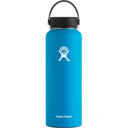 Hydro Flask 40 oz Wide Mouth Insulated Bottle w/ Flex Cap - Pacific