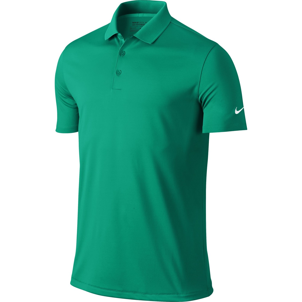 908c285d08885 Nike Golf Victory Solid Polo - Teal Charge/White