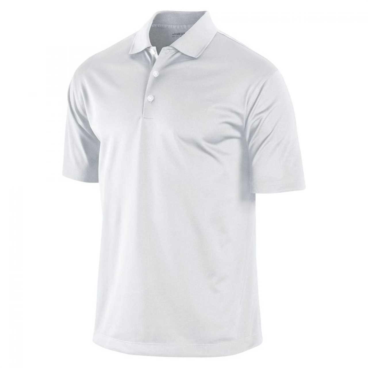 10cf230ef Nike UV Stretch Tech Men's Golf Polo (White) S