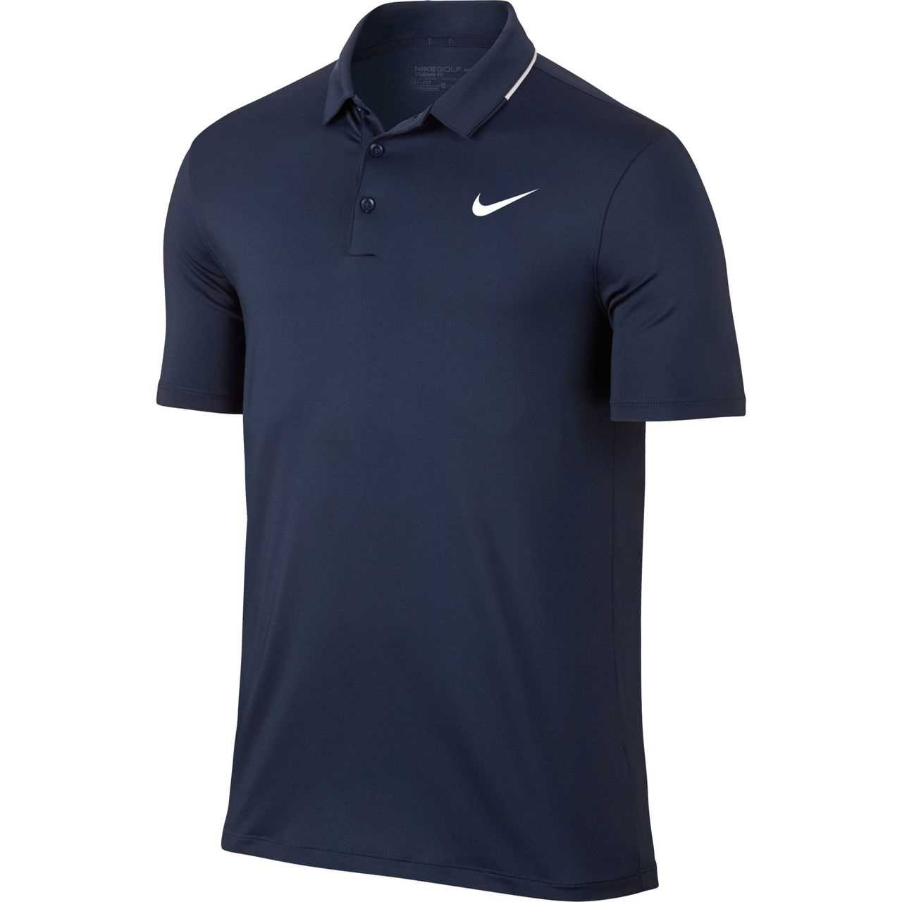 1bac56ce4 Nike Dry Solid Men s Golf Polo - Navy