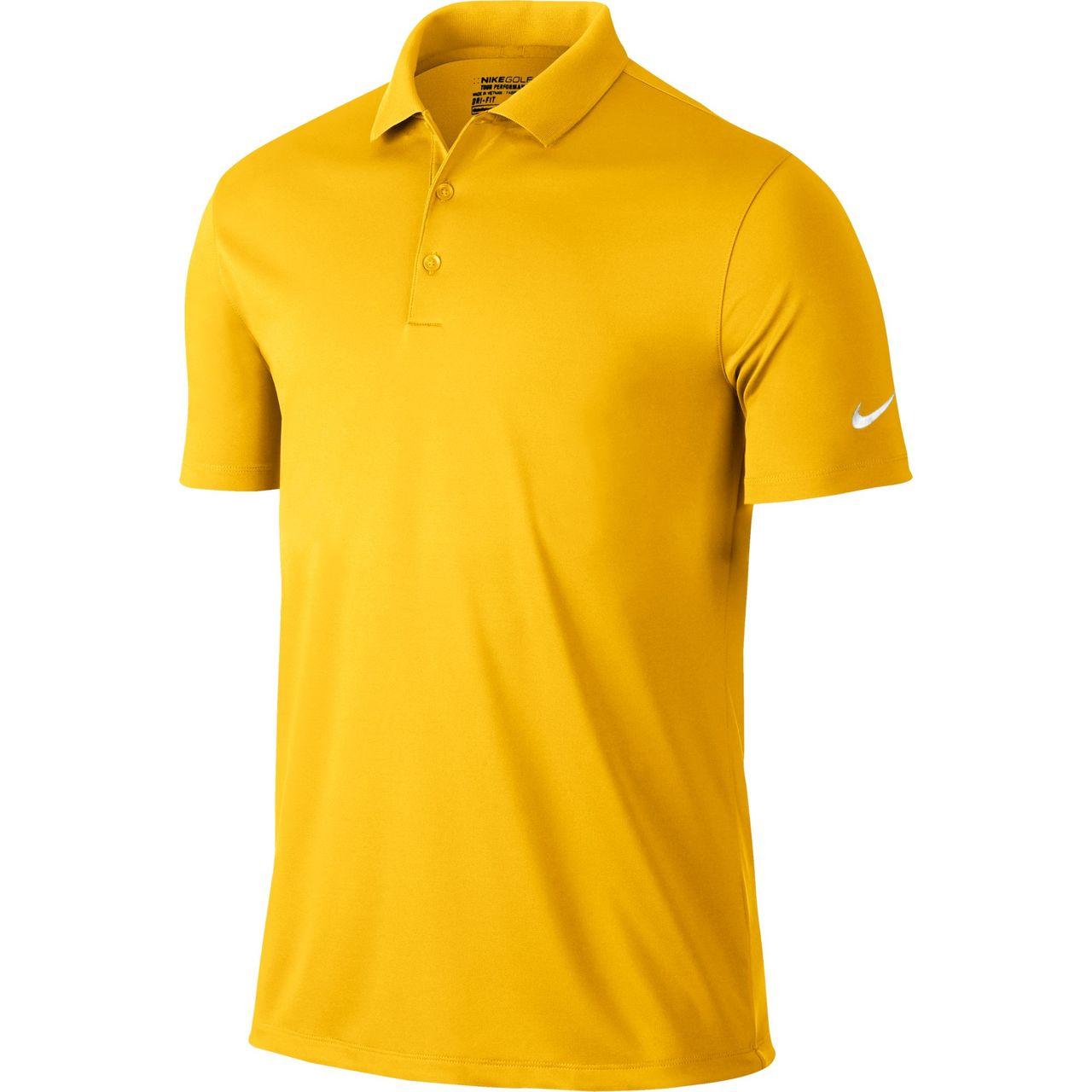 e9b31c68 Nike Golf Victory Solid Polo (Amarillo)