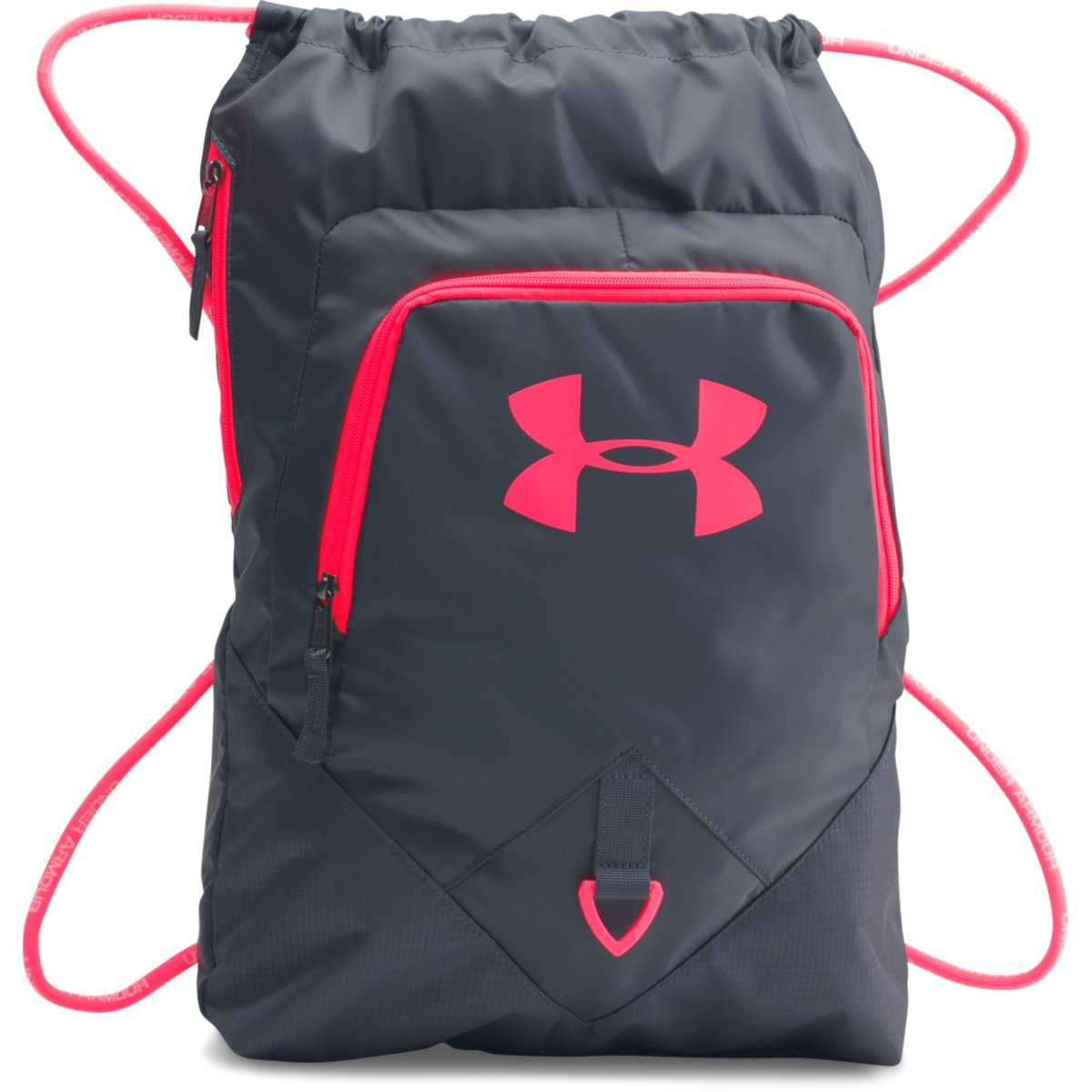 d1ed8f7bd8 Under Armour Undeniable Sackpack - Stealth Gray/Pink