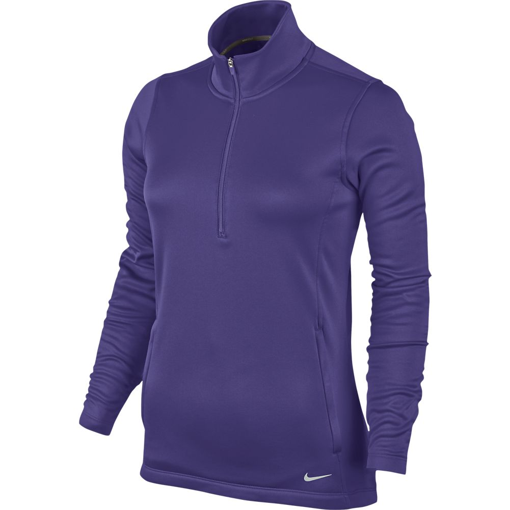 37f843f08d2f Nike Women s Thermal 1 2-Zip Pullover - Varsity Purple (Size