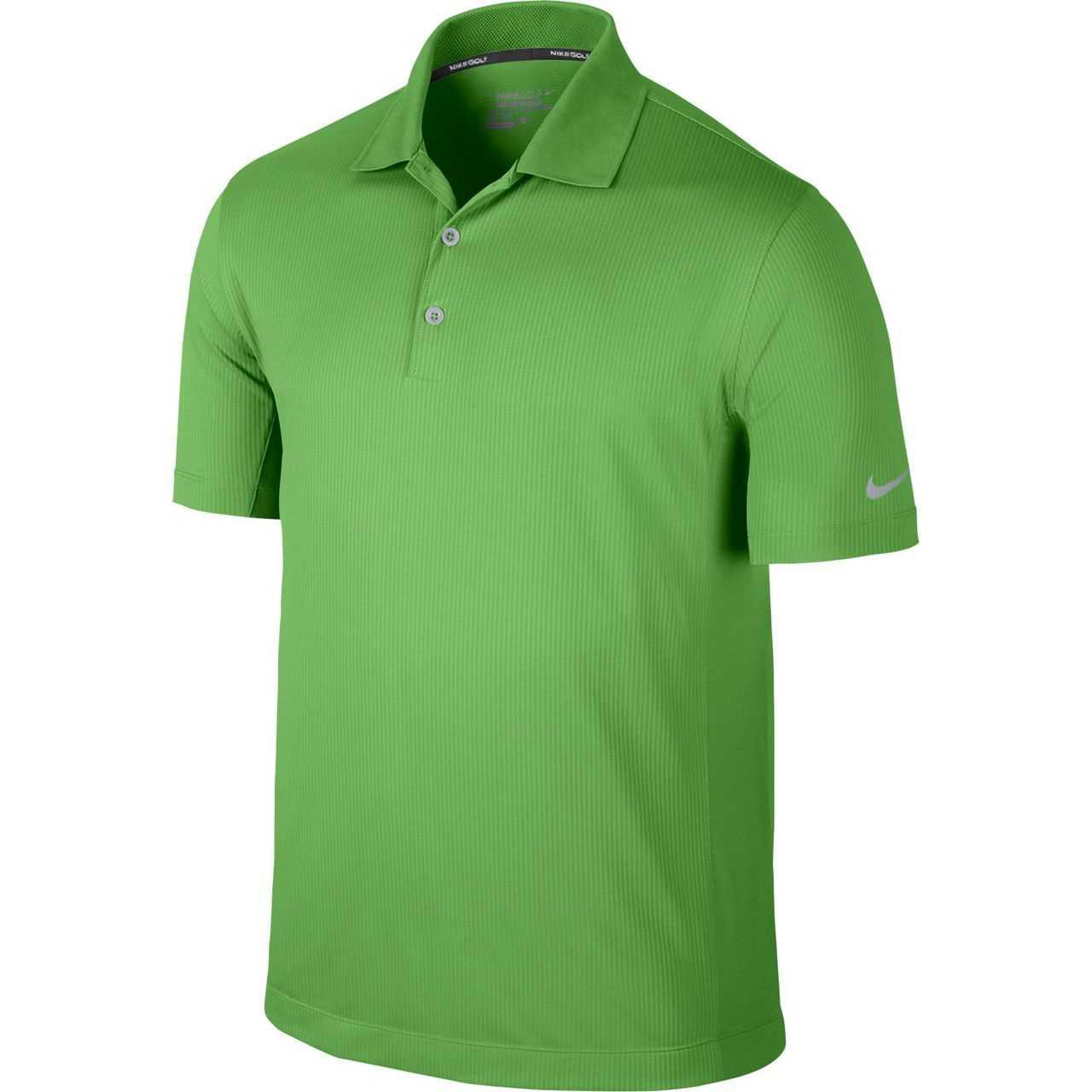 284e2399a Nike Golf Tech Vent Polo DOVE GREY/ANTHRACITE XL - Lt Green Spark ...