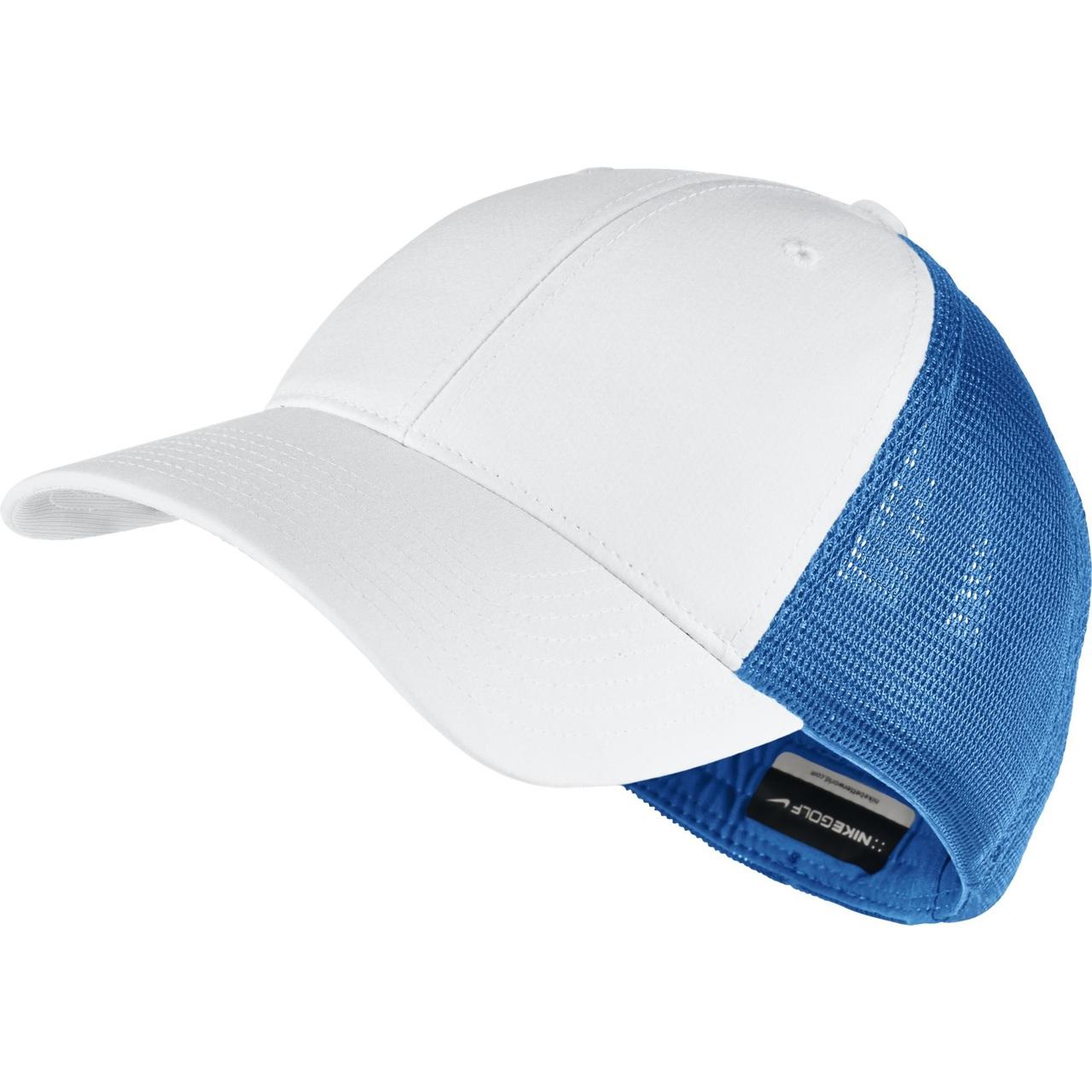 b29f6508 Nike Golf Legacy 91 Mesh Custom Hat (Midnight Navy/White) S/M - Photo  Blue/White/Anthracite