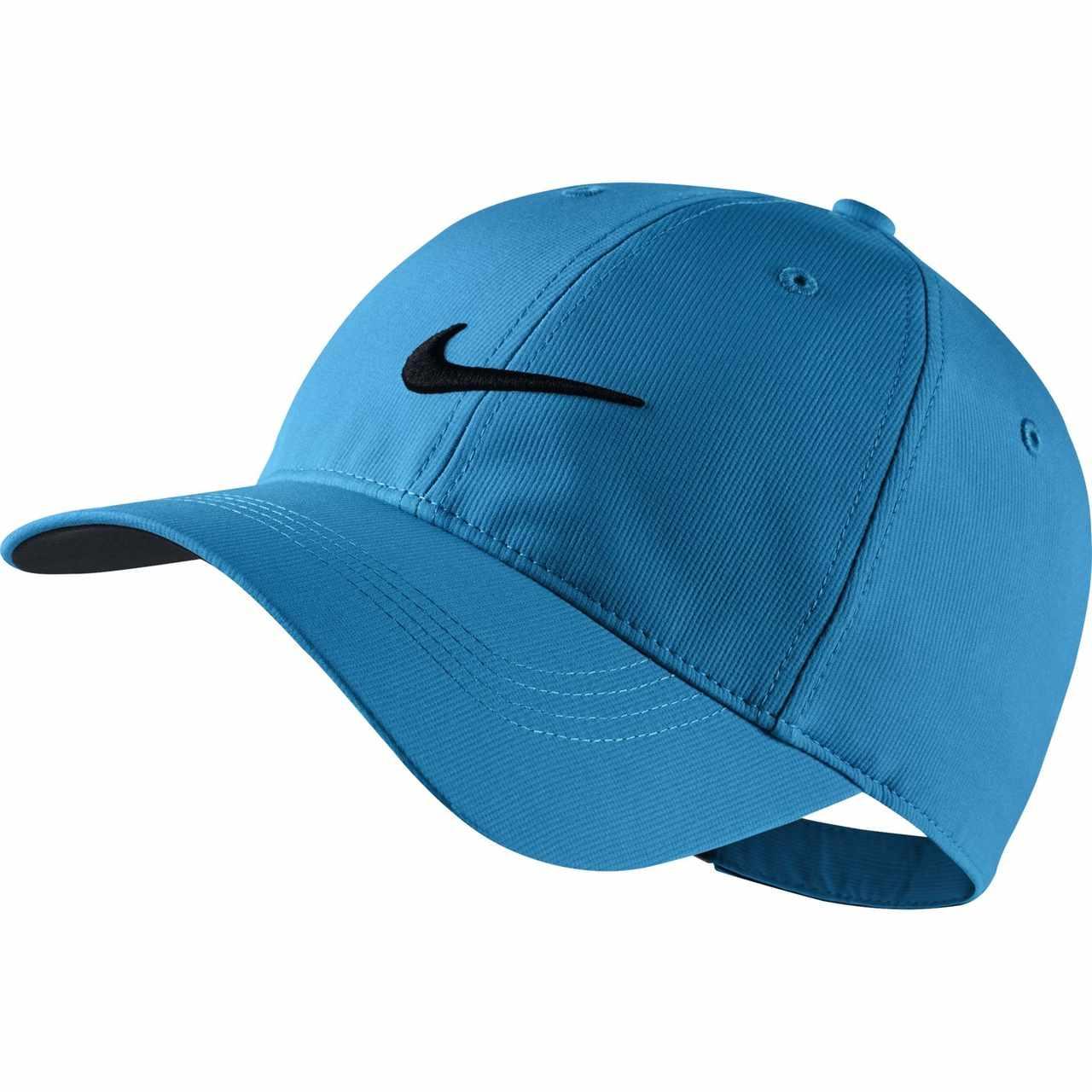 7798b16d9ba87 Nike Golf Legacy 91 Tech Adjustable Hat (Photo Blue Black) - Valor ...