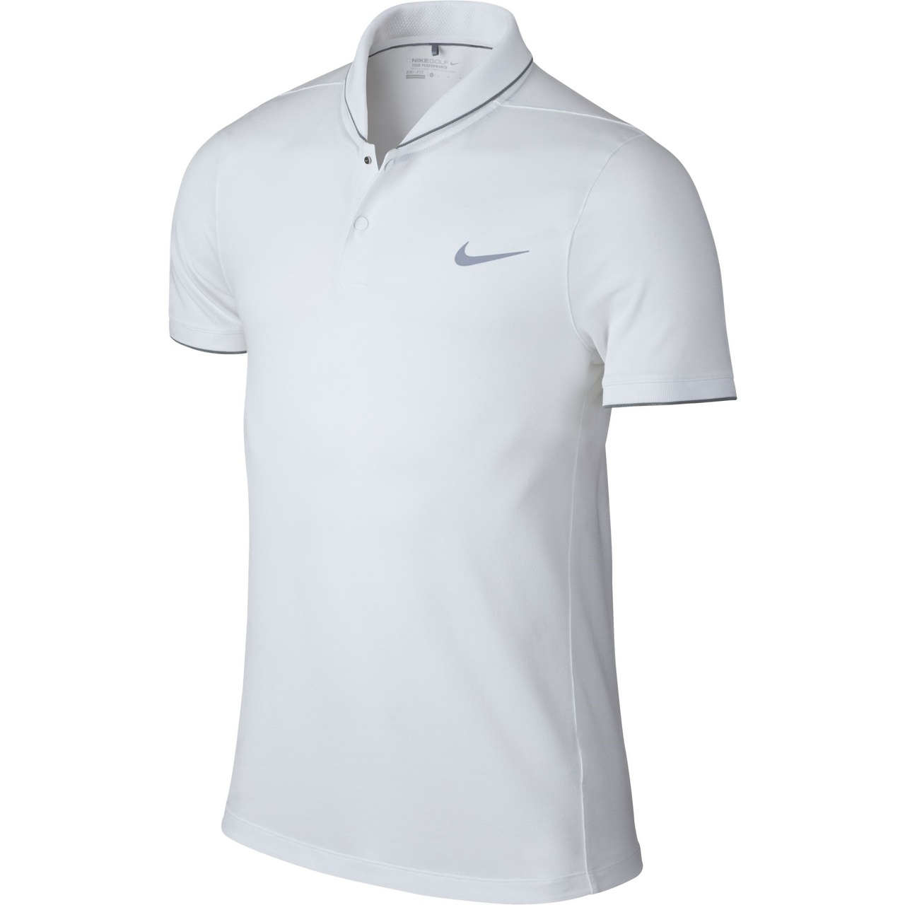 c8b9a180 Nike Golf MM Fly Roll Polo (Midnight Navy) XL - White