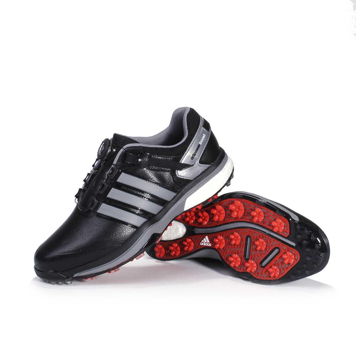 half off 7b167 9a8b6 adidas Mens adiPower Boost BOA Golf Shoes - BlackIron