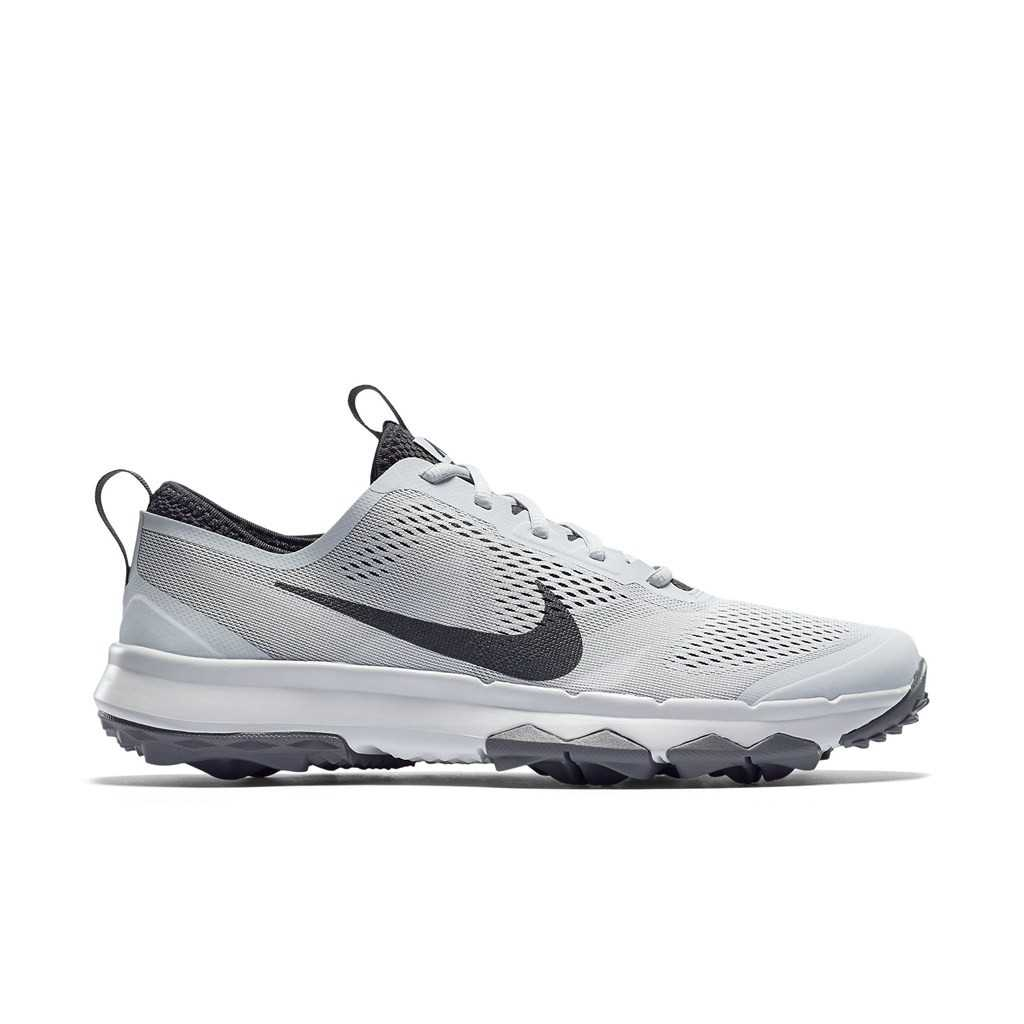 58a40af33d567 Nike FI Bermuda Men's Spikeless Golf Shoe - Pure Platinum/Anthracite/White