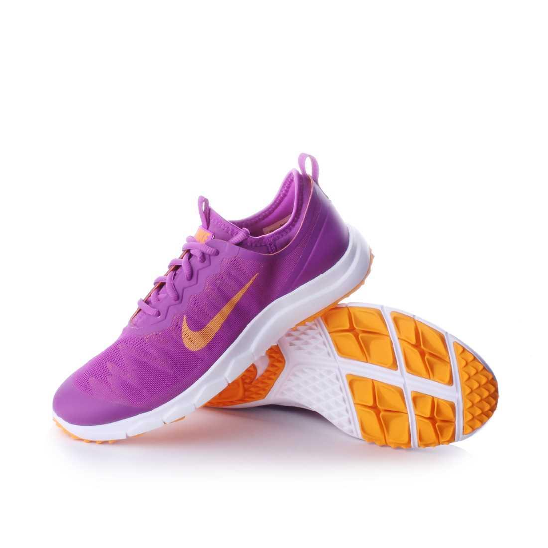 e147c0e51f766 Nike FI Bermuda Women s Spikeless Golf Shoe in Purple Orange White