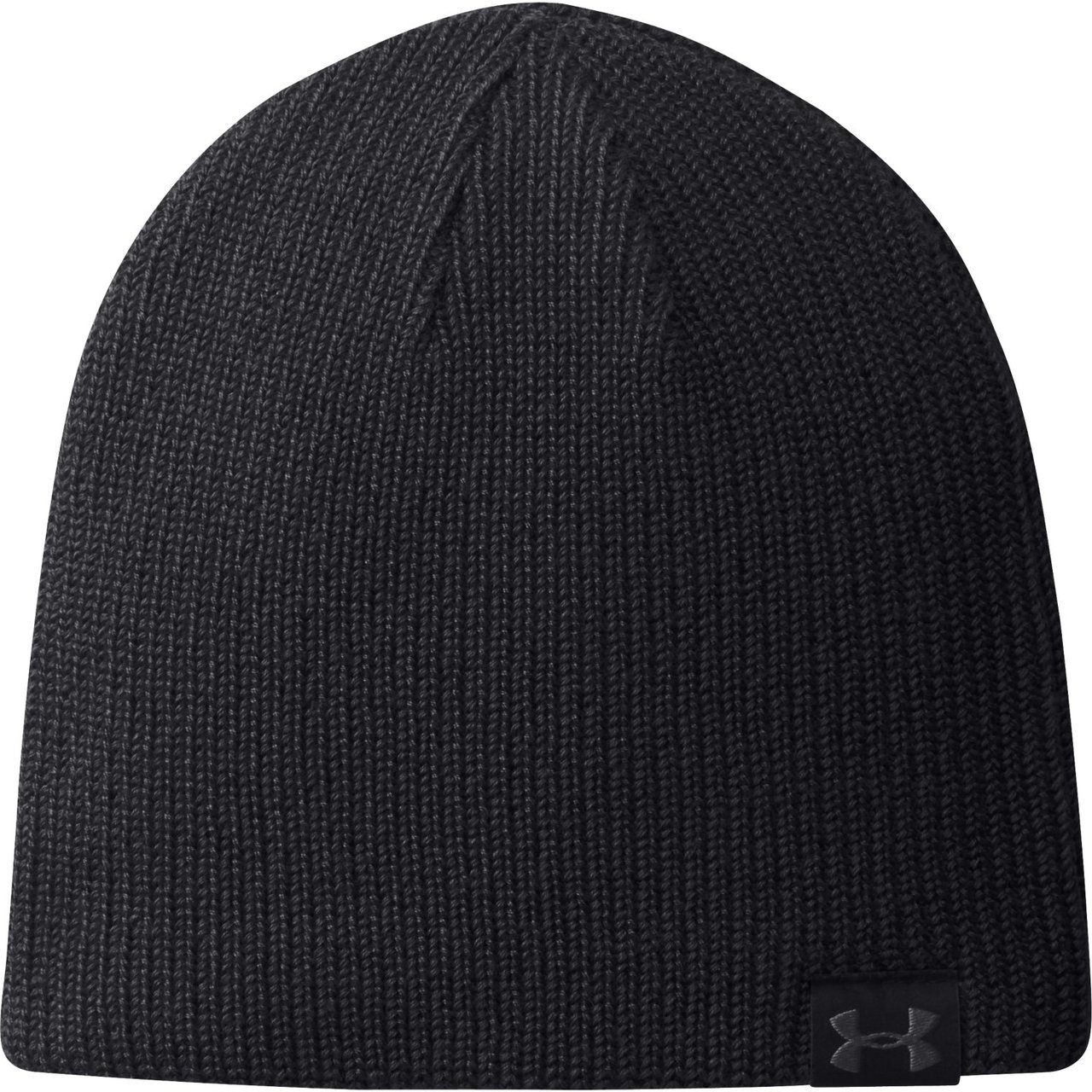 098d4f7d1f1 Under Armour Golf Men s Basic Knit Beanie - Black Graphite (Black)