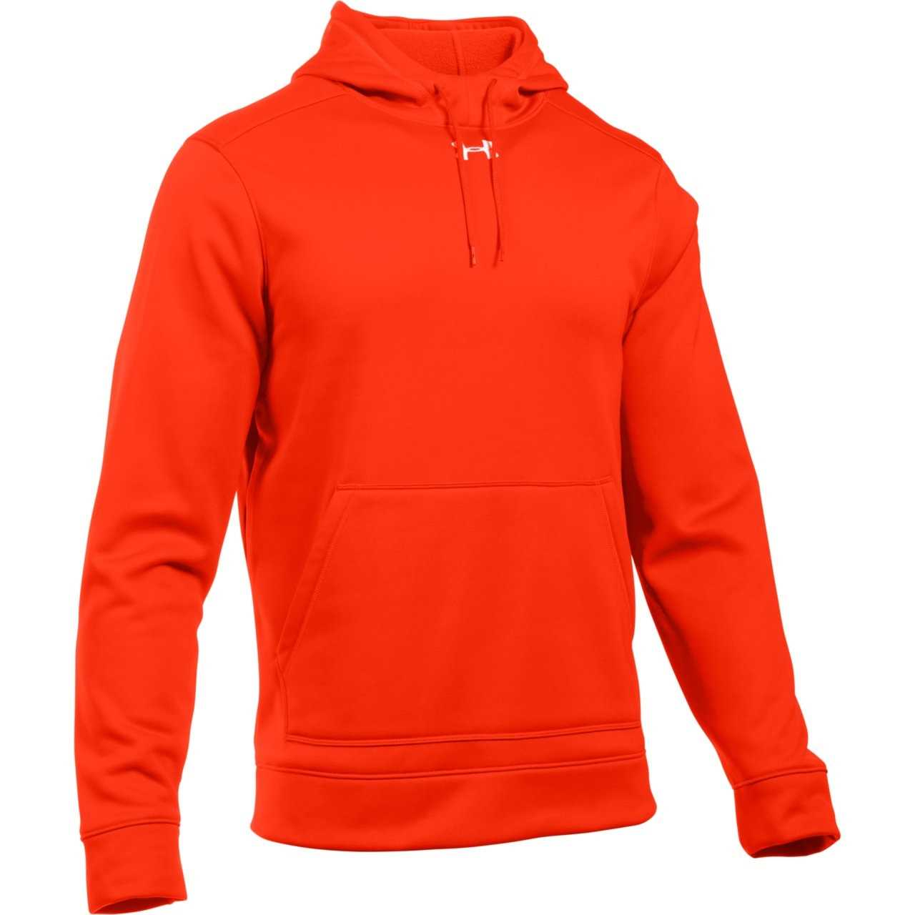 34ef1f0cf Under Armour Men's Storm Armour Fleece Hoodie - Dark Orange