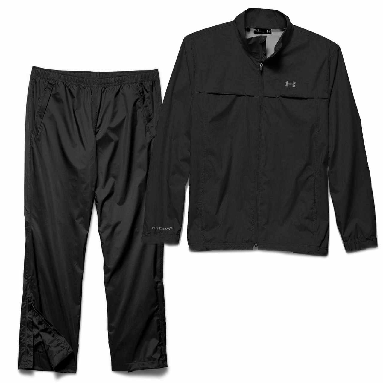 2fb8758a71c1 Under Armour Men s Storm Golf Rain Suit - Black