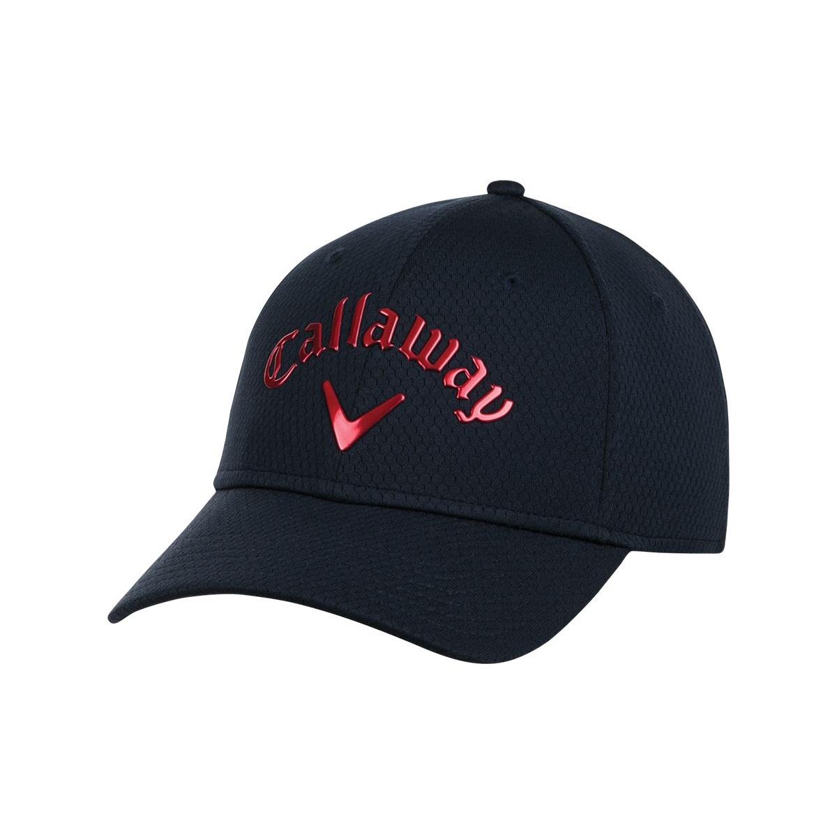 00794932eac Callaway Golf 2016 Liquid Metal Adjustable Hat - Navy Red