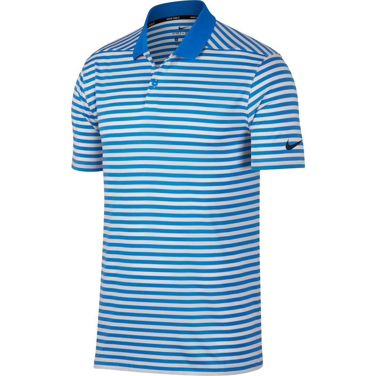 459c11d130e05 Shop Nike Dry Victory Stripe Men's Golf Polo | GLW
