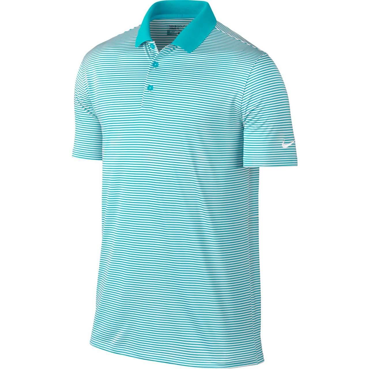 b5e7241004 Shop Nike Victory Mini Stripe Men's Golf Polo | GLW