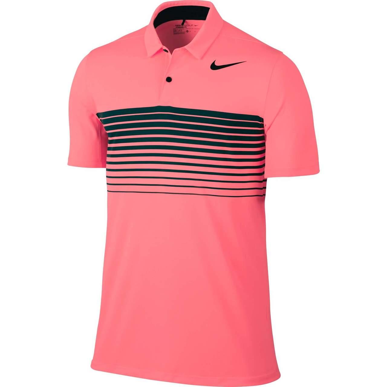 1438ed952 Shop Nike Mobility Speed Stripe Men's Golf Polo | GLW