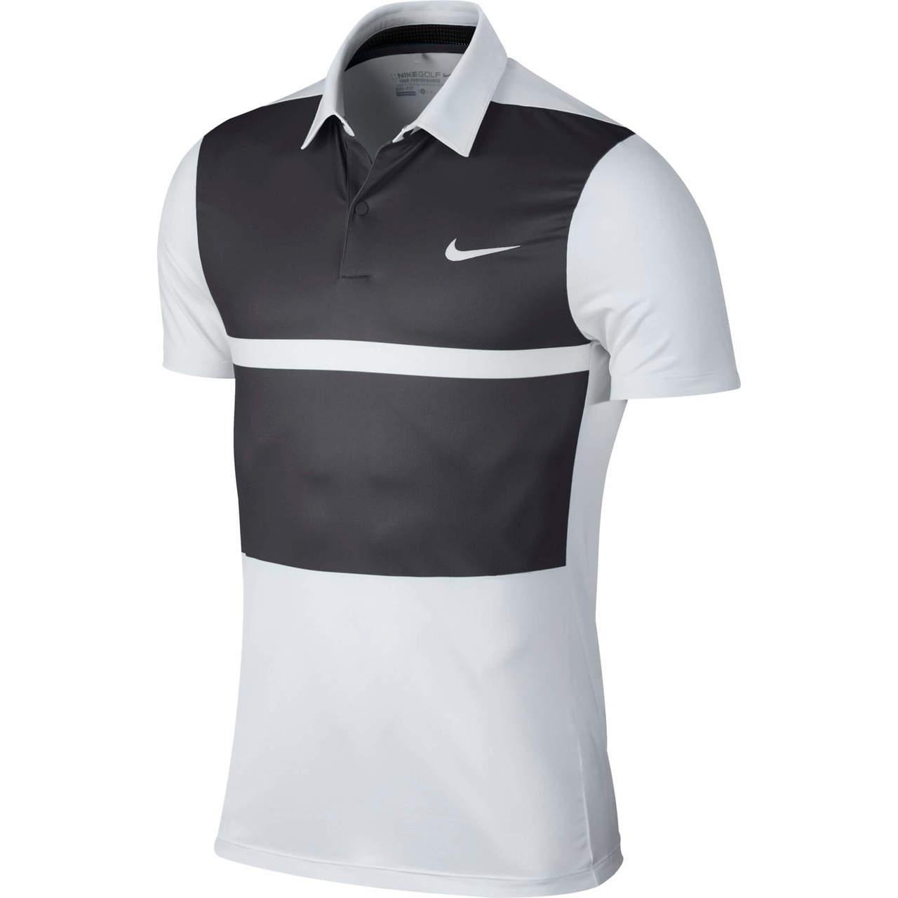 a40d9d3885918 Nike Momentum Fly Framing Block Men s Golf Polo