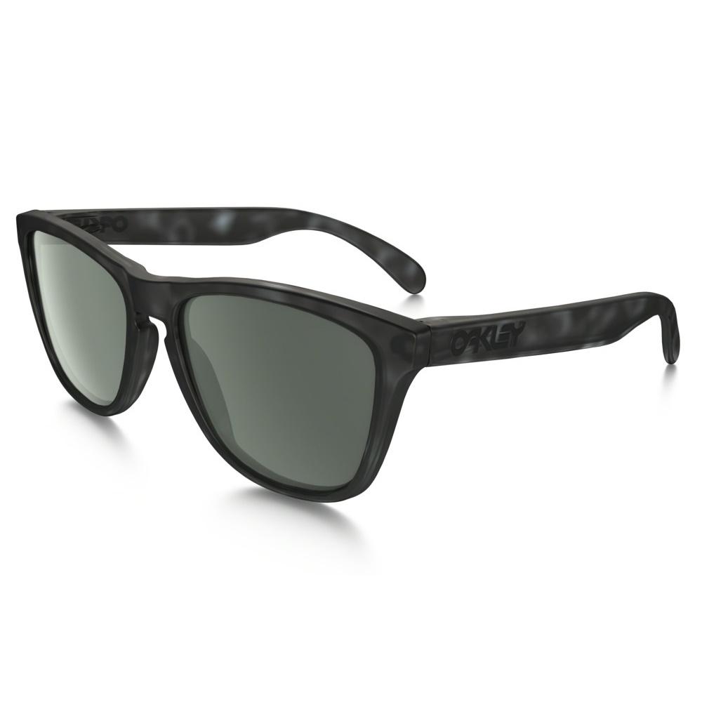 Oakley Sunglasses Fallout Frogskins Black Tortoise Frame w DARK GRAY Lens fbb1e81435cb
