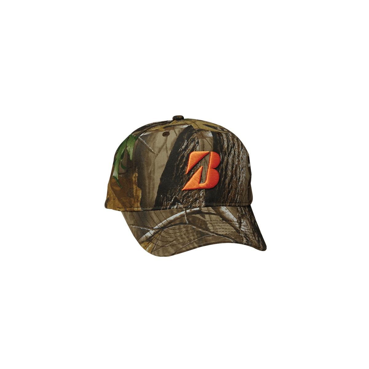 7946385be1010 Bridgestone Golf RealTree Adjustable Hat with Orange Logo