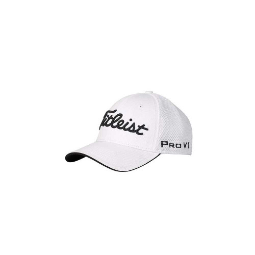 7b01659a83e Titleist Pro V1 Sports Mesh Fitted Hat - White