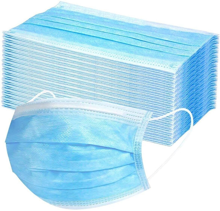 50pcs disposable face mask (non-medical)