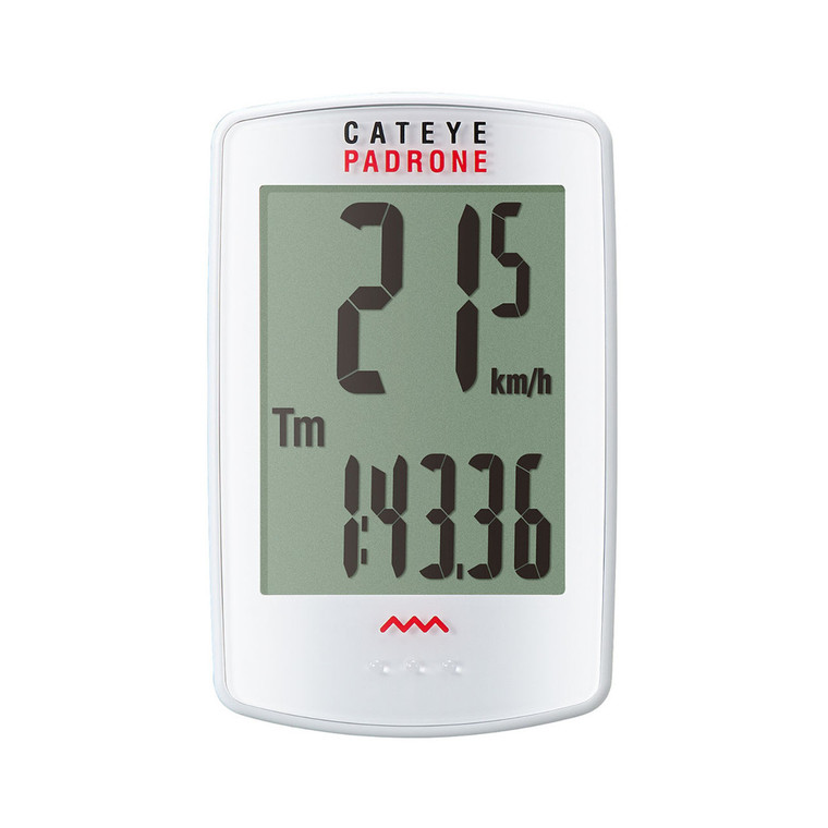 Padrone (with Stopwatch) White CC-PA100W