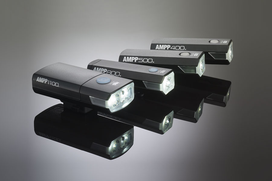 Cateye AMPP front headlight family