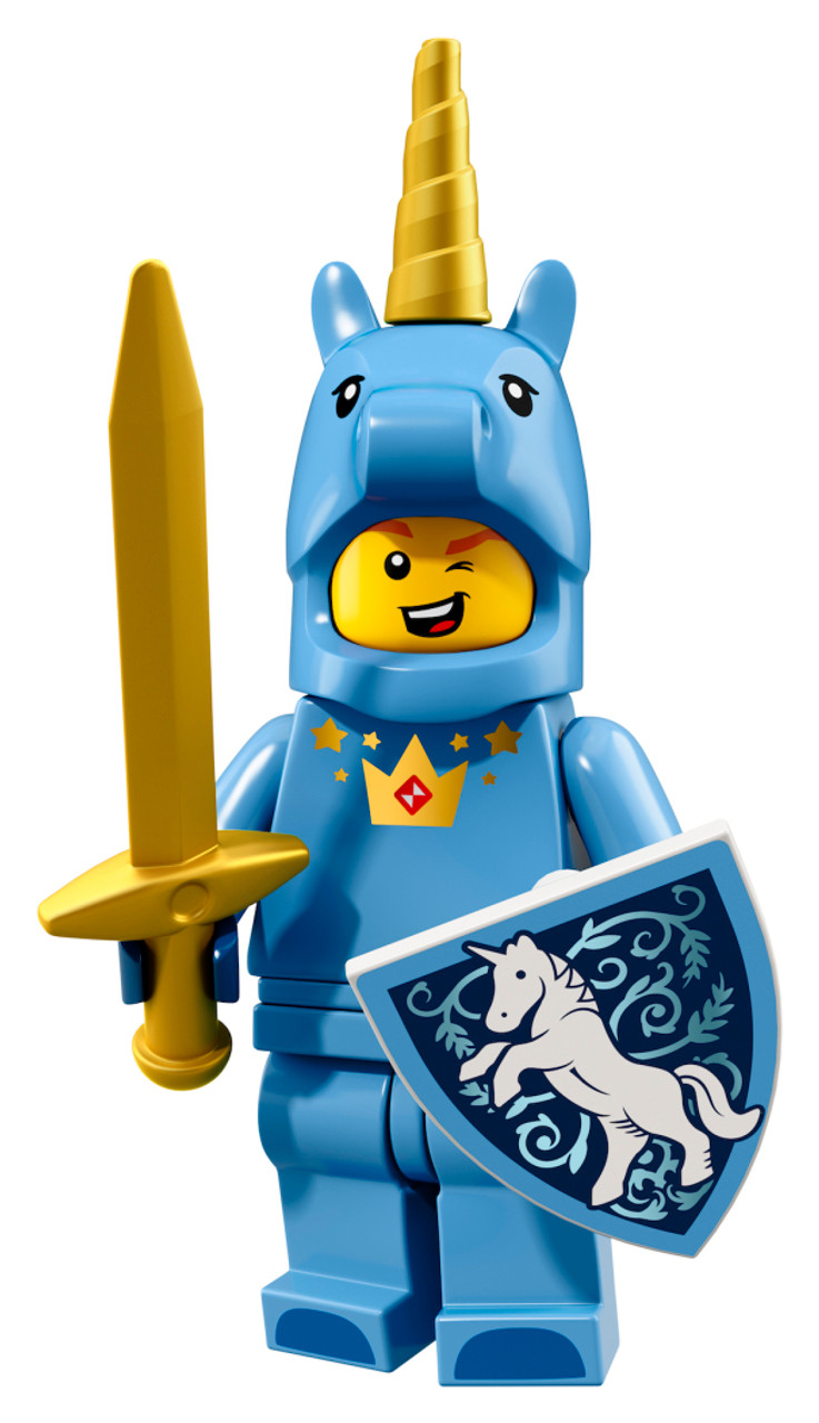 71021 inicorn Cara-Novo em folha fechado!!! Lego Minifiguras Series 18