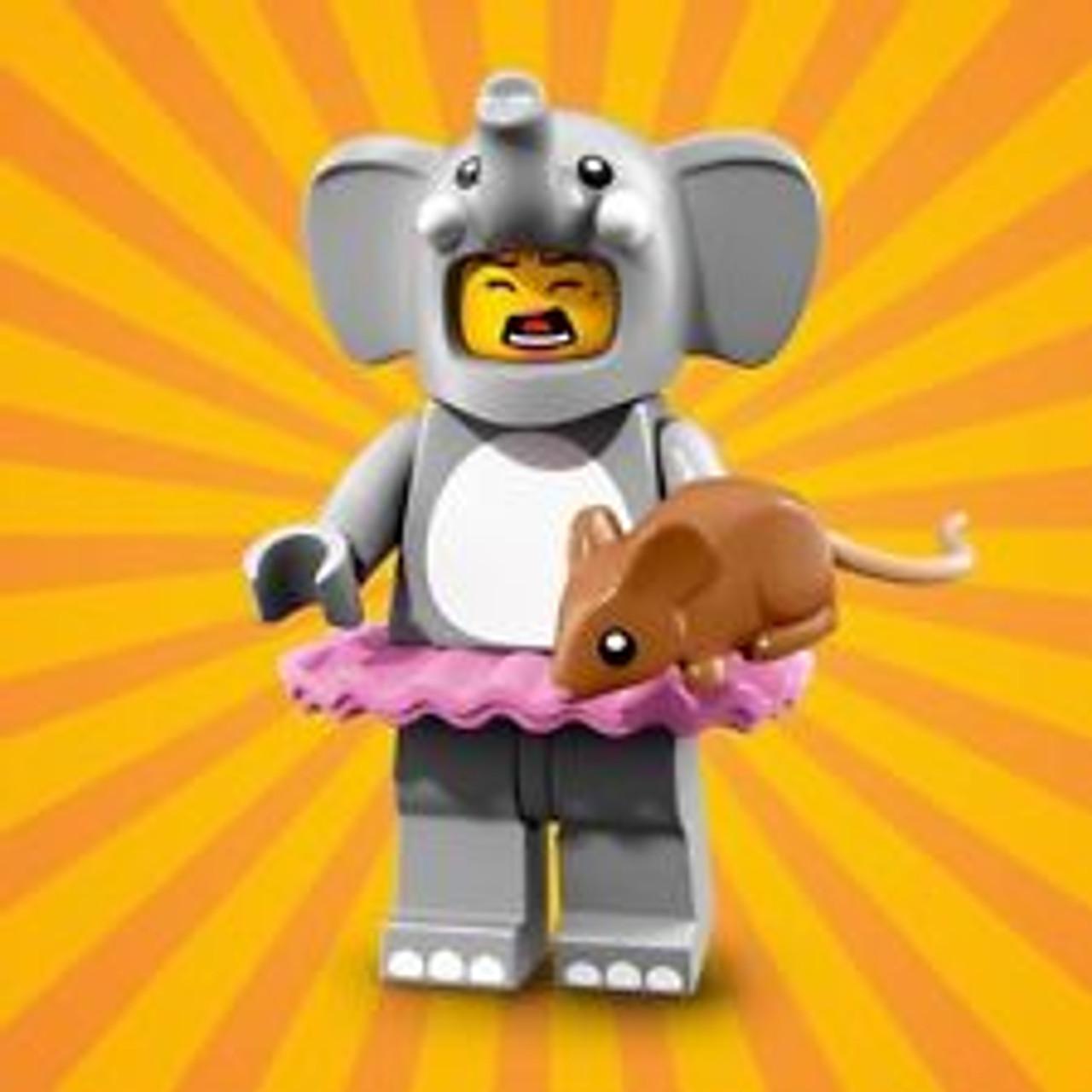 Elephant girl Lego Series 18 Collectible Minifigures 71021