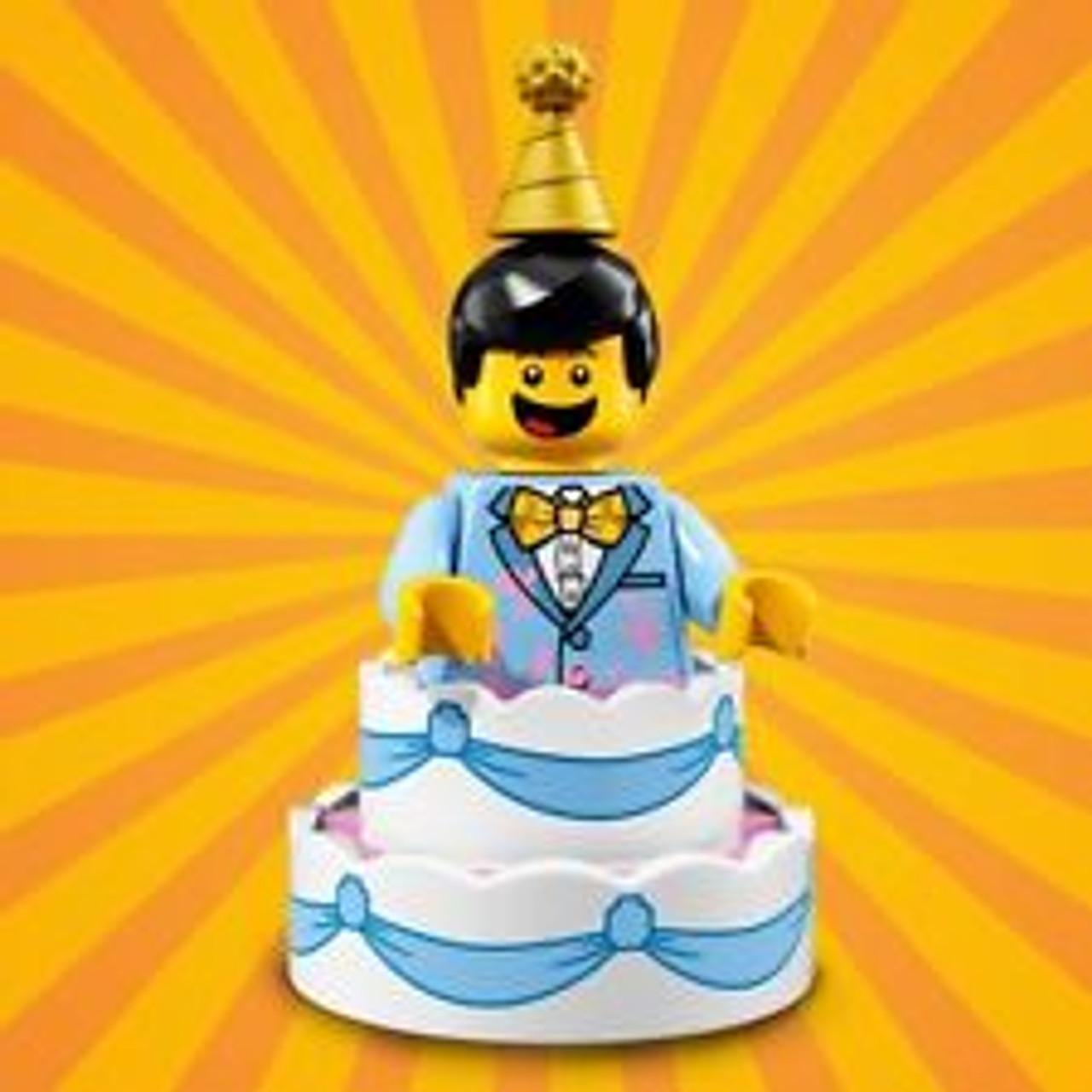 Lego Minifigures Series 18 Birthday Cake Guy 71021 The Brick People