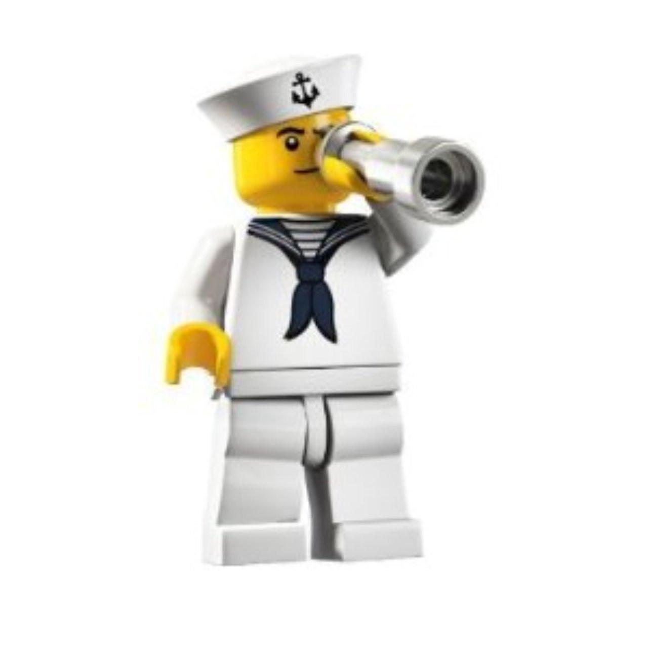 Lego 8804 Minifigure Series 4 Sailor Complete
