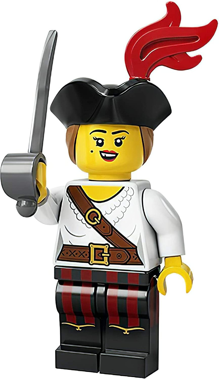 Lego Collectible Minifigures Series 20 CMF 71027 Brand New In Hand Pirate Girl