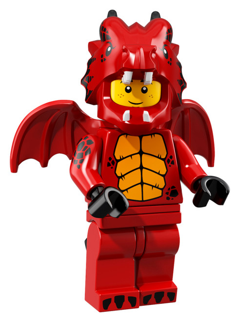 LEGO® Minifigures Series 18 - Red Dragon Suit Guy - 71021